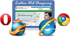 Custom Website Designing