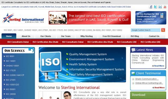 Corporate Website Designing