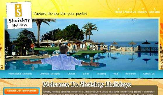 Shrishty Holiday Pvt. Ltd.