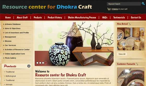 Resource Center for Dhokra Craft