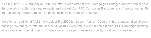 PPC Adwords