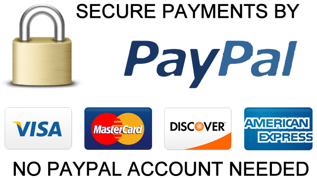 Click on Image to Make the PayPal Payment